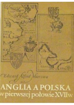 Anglia a  Polska w pierwszej połowie XVII wieku