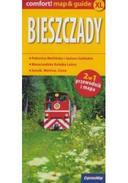 Comfort! map&guide XL Bieszczady 2w1w.2021