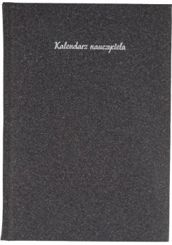 Kalendarz Nauczyciela A5 2020/2021 Natura czarny