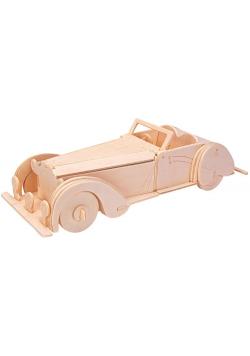 Łamigłówka drewniana Gepetto-Oldtimer kabriolet G3