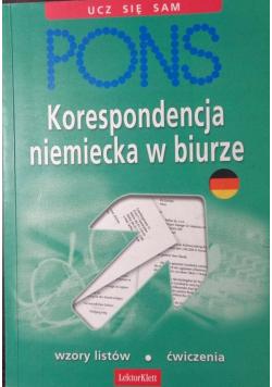 Pons Korespondencja niemiecka w biurze
