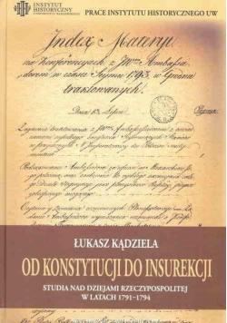 Od Konstytucji do Insurekcji...
