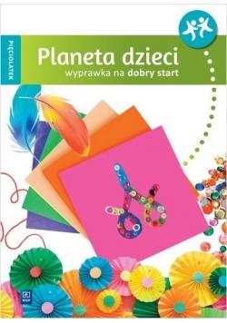 Planeta dzieci Pięciolatek Wyprawka na start WSiP