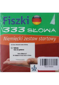 Fiszki 333 słowa Niemiecki zestaw startowy