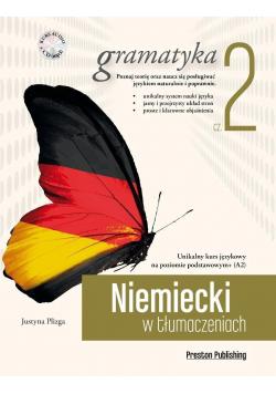 Niemiecki w tłumaczeniach  Gramatyka 2 plus  CD