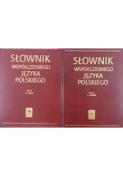 Słownik współczesnego języka polskiego Tom I i II