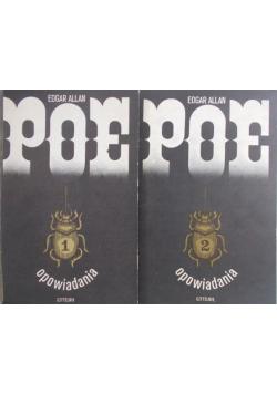 Poe opowiadania 2 Tomy
