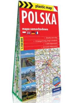 Polska foliowana mapa samochodowa 1:700 000