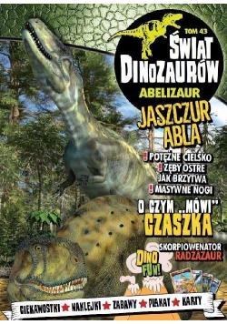 Świat dinozaurów T.43 Abelizaur