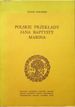 Polskie przekłady Jana Baptysty Marina