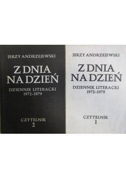 Z dnia na dzień dzienniki literackie 1972 1979 tom 1 i 2