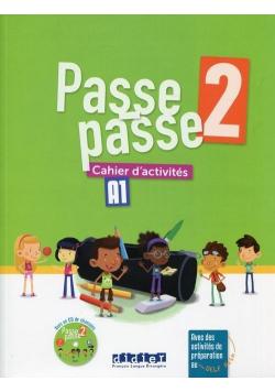Passe-Passe 2 ćwiczenia A1 + CD DIDIER