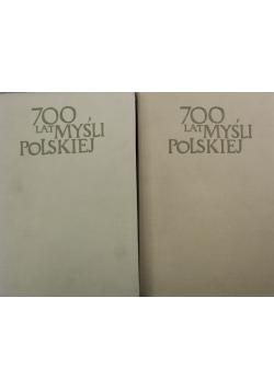 700 lat myśli polskiej Filozofia i myśl społeczna XVII wieku Część 1 i 2