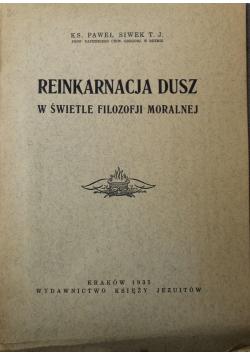 Reinkarnacja dusz w świetle filozofji moralnej 1935 r.