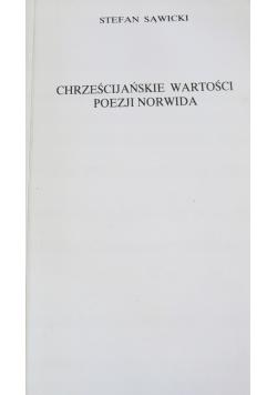 Chrześcijańskie wartości poezji Norwida
