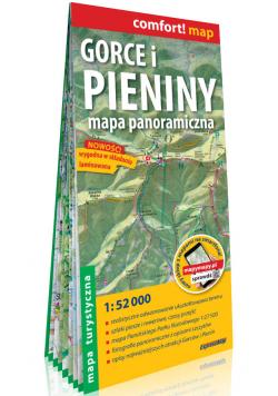 Gorce i Pieniny Mapa turystyczna laminowana mapa turystyczna 1:52 000