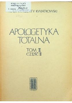 Apologetyka totalna tom II część II