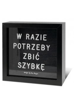 Skarbonka Home 2-Szybka