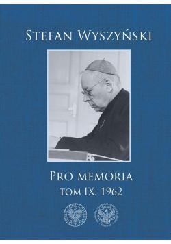 Pro memoria T.9 1962