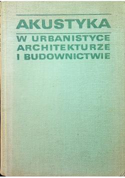 Akustyka w urbanistyce architekturze i budownictwie