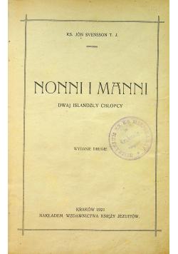 Nonni i Manni Dwaj islandzcy chłopcy 1921 r.