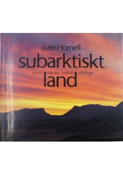 Subarktiskt land Lulea Kiruna Narvik Lofoten