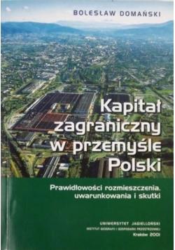 Kapitał zagraniczny w przemyśle Polski