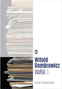 Varia T.3