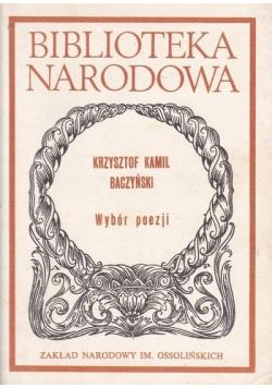 Baczyński Wybór poezji