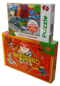 Chińczyk + puzzle gratis ALEX