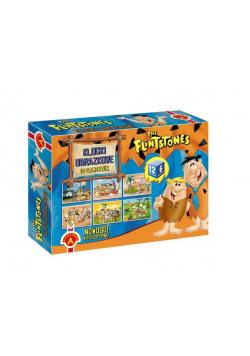 Klocki obrazkowe 12 - The Flintstones ALEX