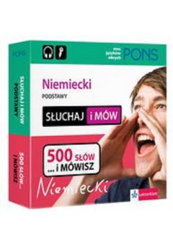 PONS Słuchaj i mów Niemiecki podstawy 500 słów i mówisz