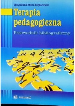 Terapia pedagogiczna Przewodnik bibliograficzny