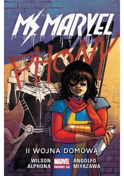 Ms. Marvel T.6 II wojna domowa
