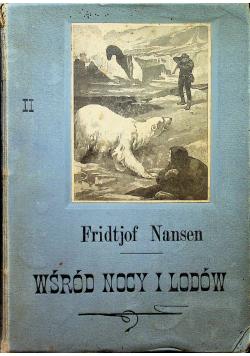 Wśród nocy i lodów tom II 1898r