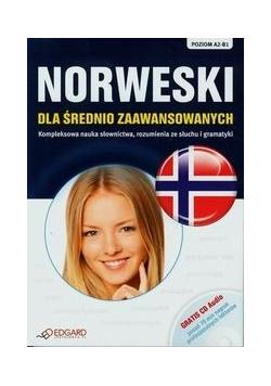 Norweski dla średnio zaawansowanych  plus CD Poziom A2 B1