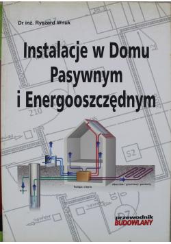 Instalacje w domu pasywnym i energooszczędnym