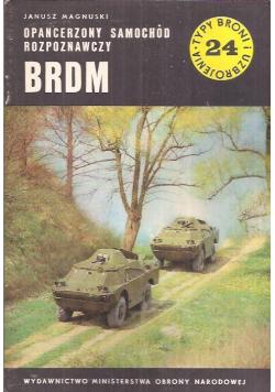 Typ broni i uzbrojenia Nr 24 Opancerzony samochód rozpoznawczy BRDM