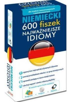 Niemiecki 600 fiszek Najważniejsze idiomy