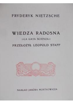 Wiedza Radosna Reprint z 1911 r.
