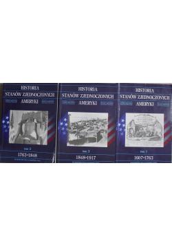 Historia Stanów Zjednoczonych Ameryki zestaw 3 książek