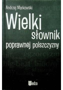 Wielki słownik poprawnej polszczyzny