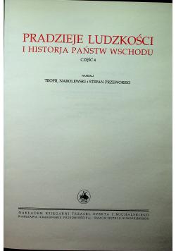 Wielka Historja Powszechna Rodzaje ludzkości i historja państw wschodu część 4 Reprint z 1935 r