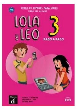 Lola y Leo 3 paso a paso podręcznik ucznia