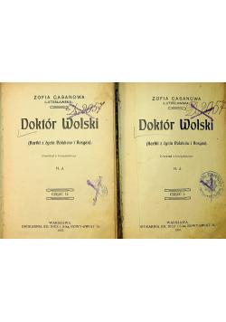 Doktor Wolski Tom I i II 1907r