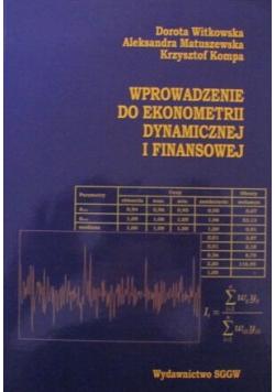 Wprowadzenie do ekonometrii dynamicznej i finansowej