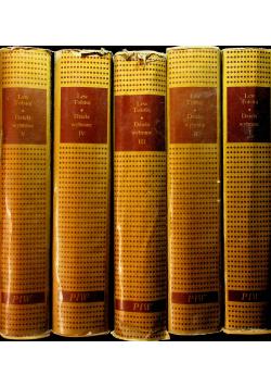 Lew Tołstoj Dzieła wybrane 5 tomów