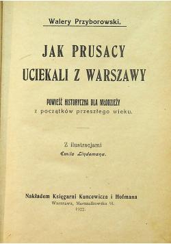 Jak Prusacy uciekali z Warszawy 1922 r