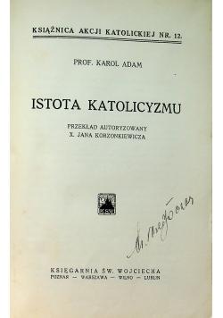 Istota katolicyzmu 1930 r