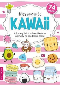 Kolorowanka z naklejkami - Niesamowite Kawaii